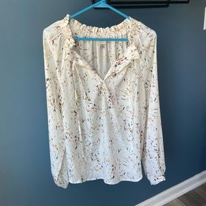 A New Day Long Sleeve Blouse Size L
